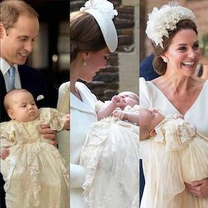 Prince George, Princess Charlotte, Prince Louis, Christening
