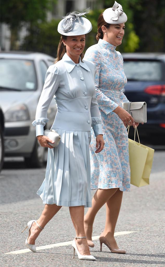Pippa Middleton, Prince Louis Christening