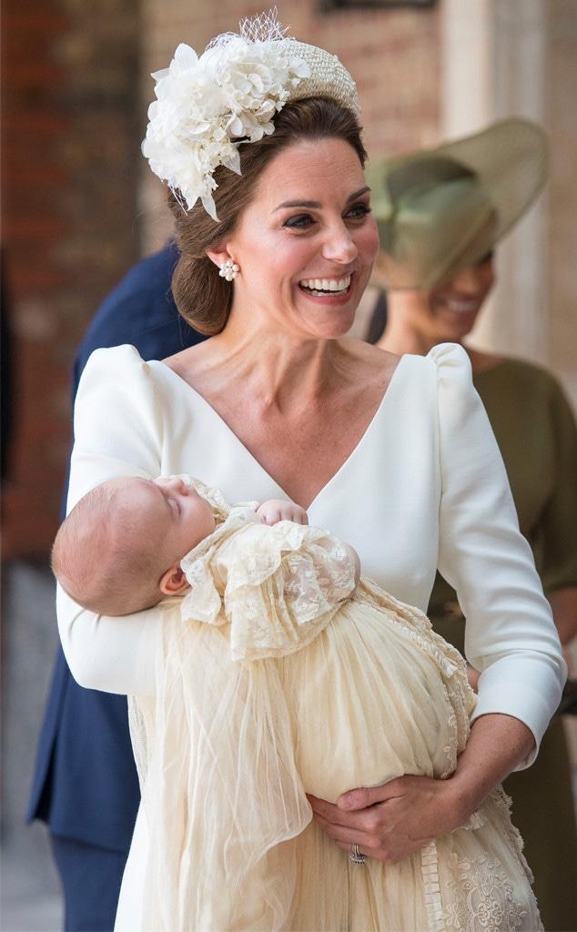 Kate Middleton, Prince Louis, Christening