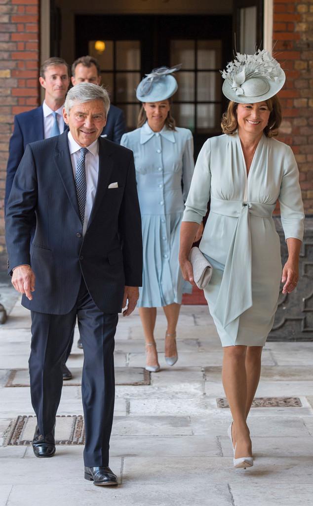 Prince Louis Christening, Michael Middleton, Carole Middleton
