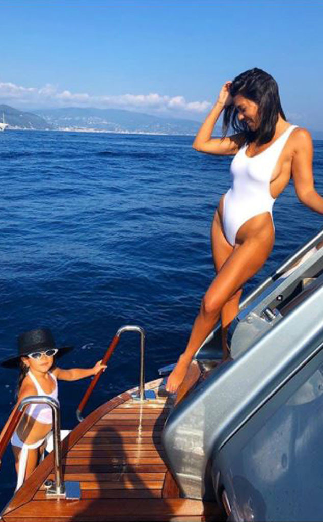 Kourtney Kardashian, Penelope Disick, Mother-Daughter