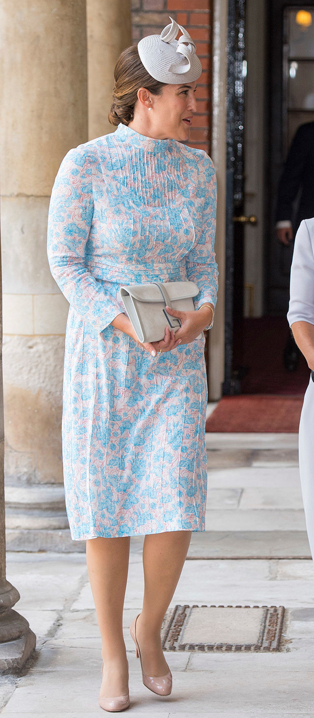 Lucy Middleton, Prince Louis Christening