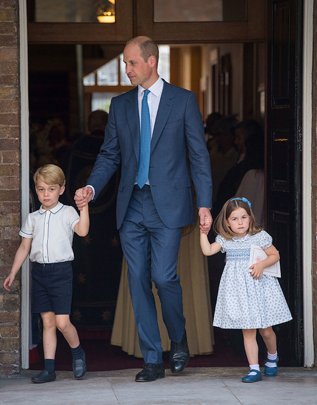 Prince Louis Christening, Prince William, Prince George, Princess Charlotte