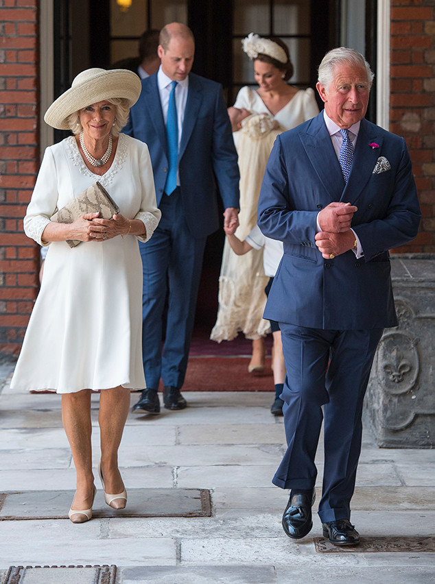 Prince Louis Christening, Prince Charles, Camila