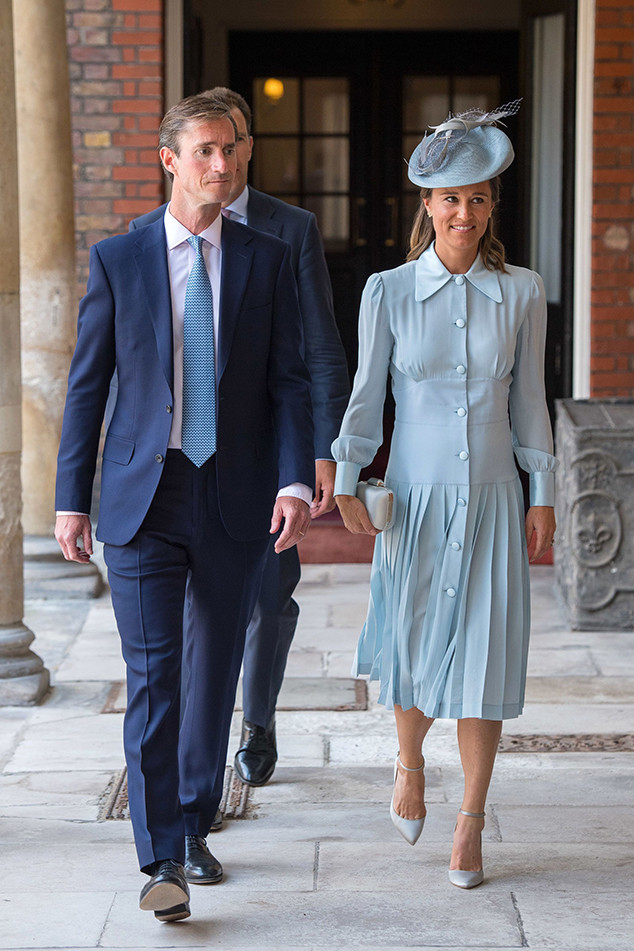 Pippa Middleton, James Matthews, Prince Louis Christening