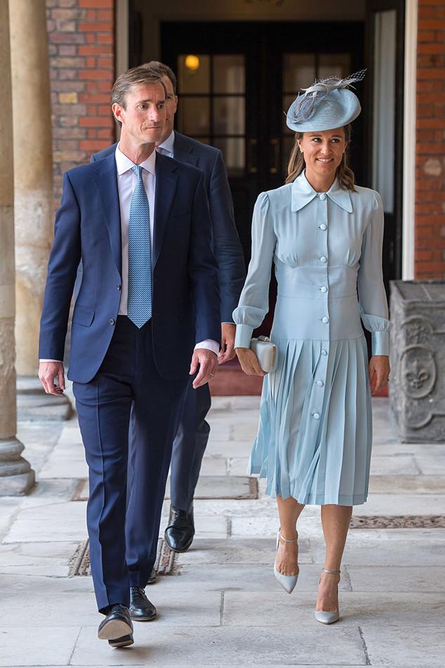 Pippa Middleton, James Matthews, Prince Louis Christening