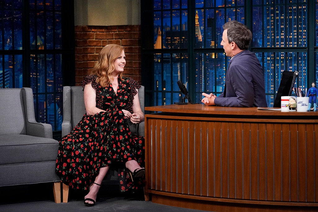 Amy Adams, Seth Meyers