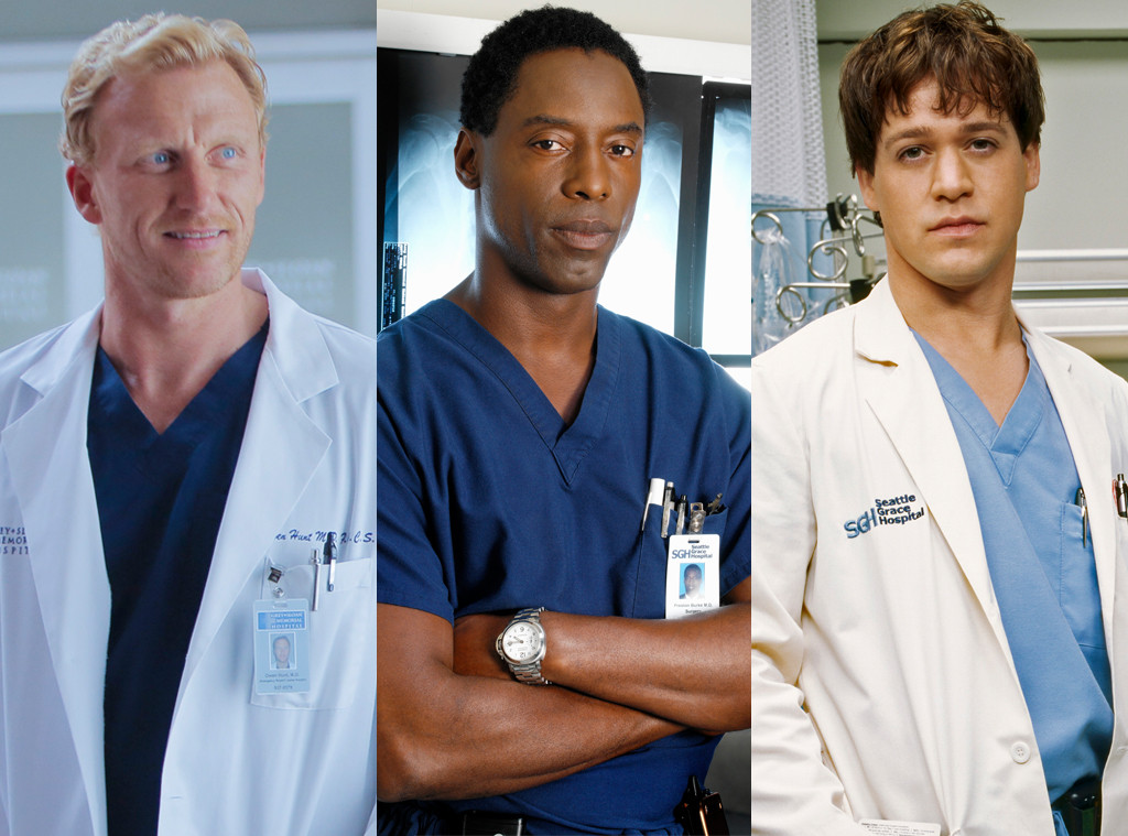 Grey's Anatomy Hotties, Kevin McKidd, Isaiah Washington, T.R. Knight