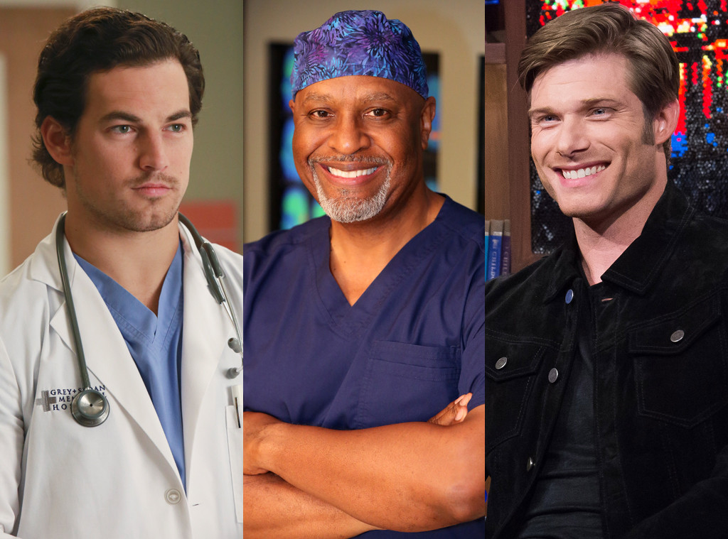 Grey's Anatomy Hotties, Giacomo Gianniotti, James Pickens Jr., Chris Carmack