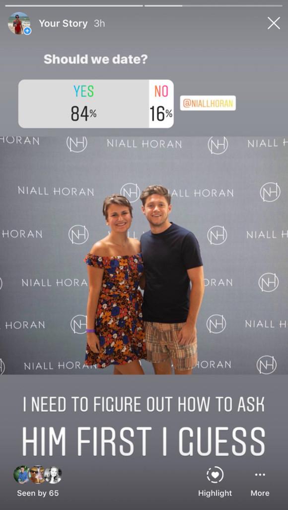Niall Horan, Tory Appel,Twitter