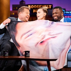 James Corden, Hayley Atwell, 50 Cent, The Late Late Show