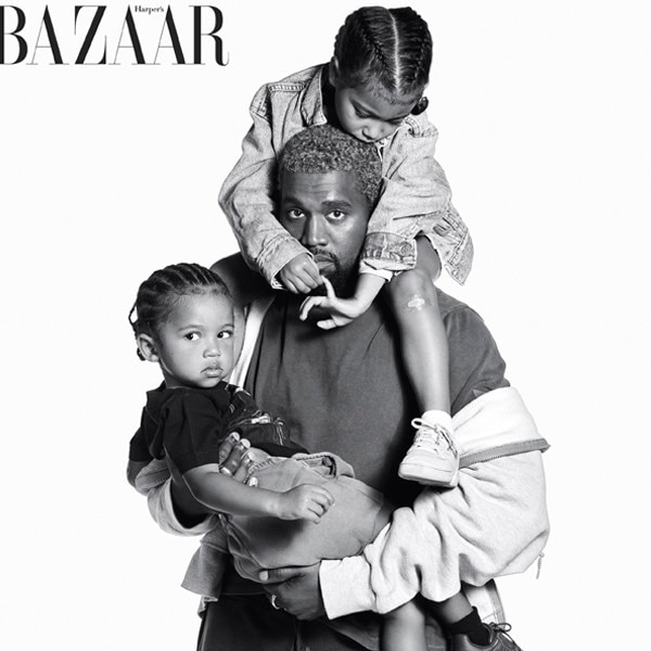 Harper's Bazaar, Kanye West, North West, Saint West