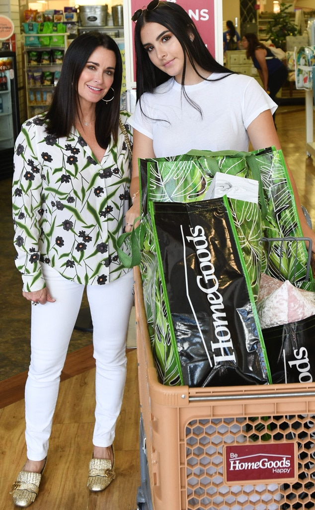 Kyle Richards -  Back to school time! The  Real Housewives of Beverly Hills  star and daughter Sophia Umansky shop for dorm decorations at HomeGoods.