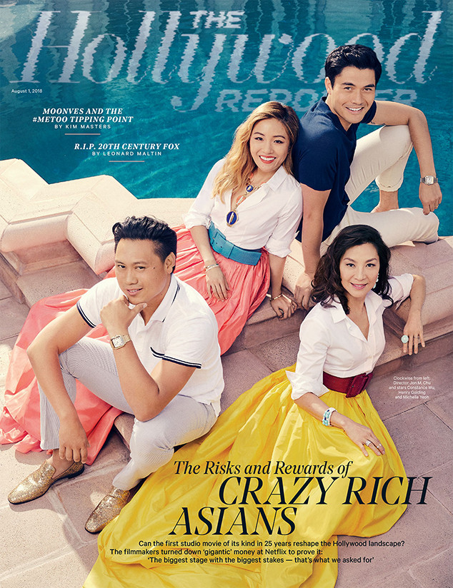 Crazy Rich Asians, The Hollywood Reporter