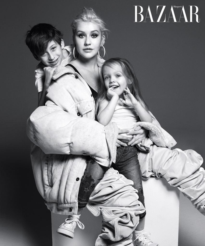 Harper's Bazaar, Christina Aguilera