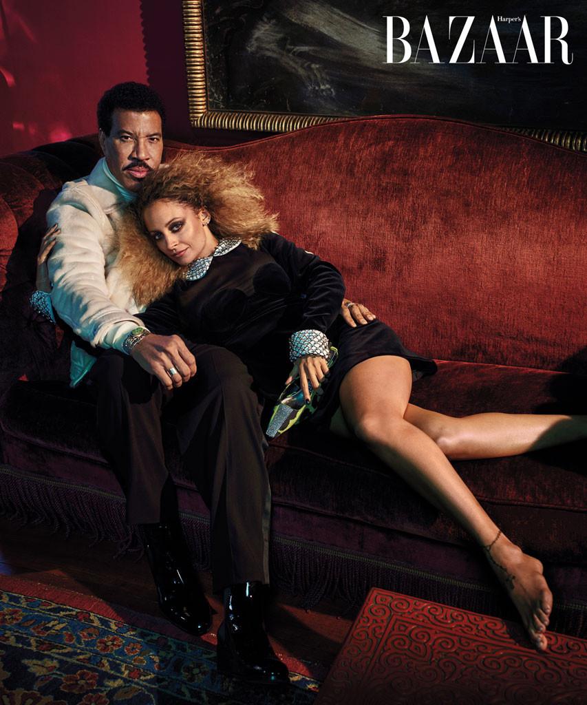 Harper's Bazaar, Lionel Richie, Nicole Richie
