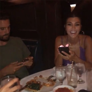 Scott Disick, Kourtney Kardashian, Kylie Jenner, Birthday