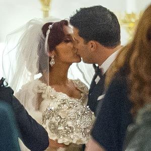 Nicole Polizzi, Snooki, Jionni LaValle, Wedding