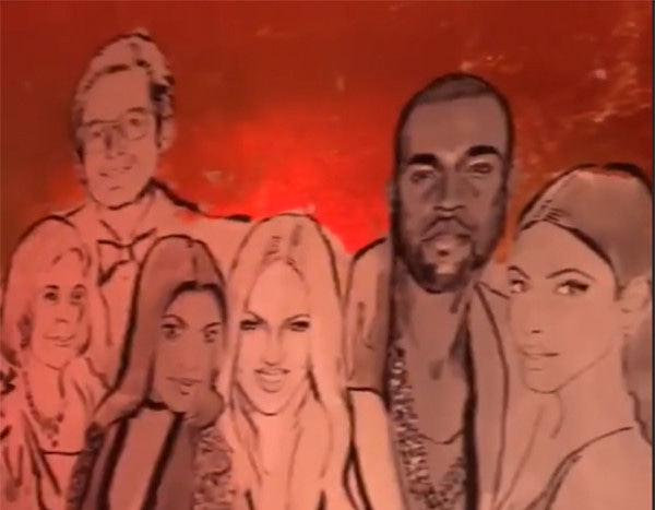 Tristan Thompson and Others Not in Kylie Jenner's Birthday Mural