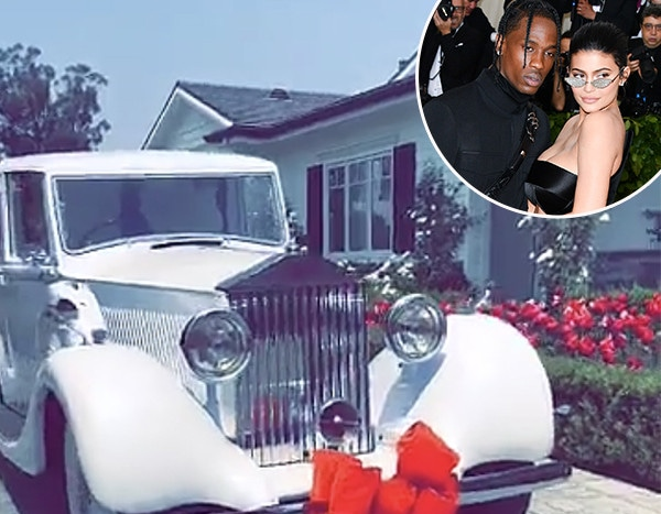 Travis Scott Gifts Wifey Kylie Jenner A Classic Rolls