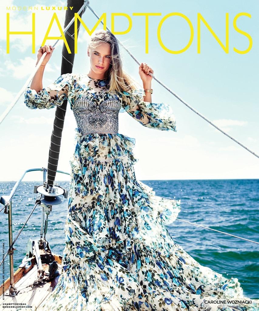 Caroline Wozniacki, Hamptons Magazine