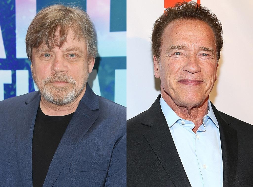 Mark Hamill, Arnold Schwarzenegger