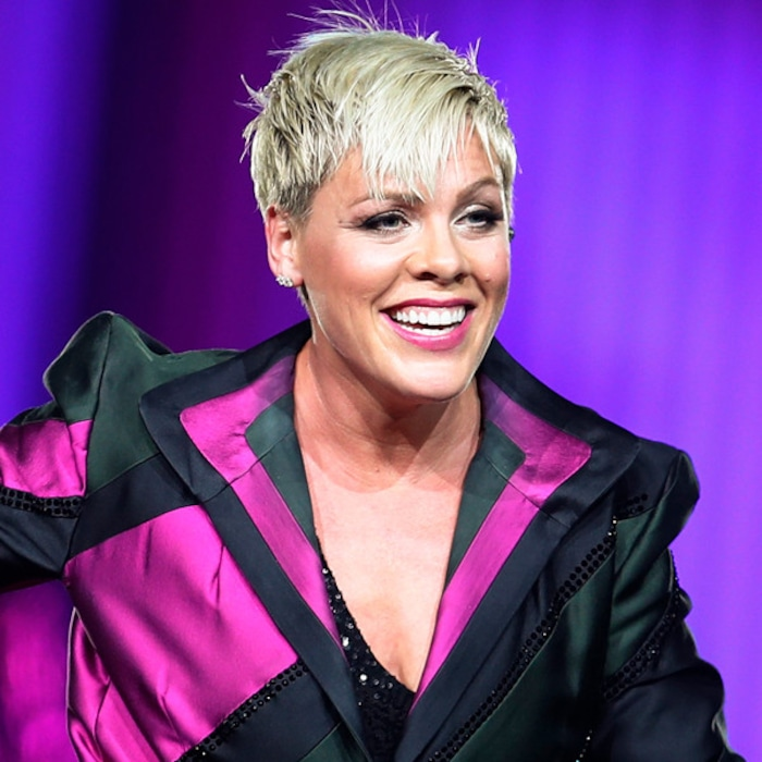 pink returns to the stage after hospitalization with support from