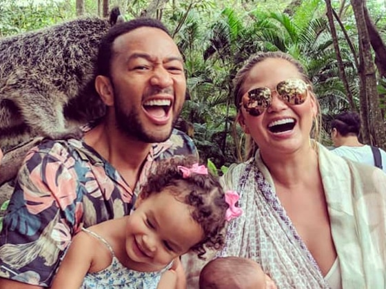 Chrissy Teigen's Kids Are the Cutest Jet-Setters While Flying Back From Their Bali Vacation