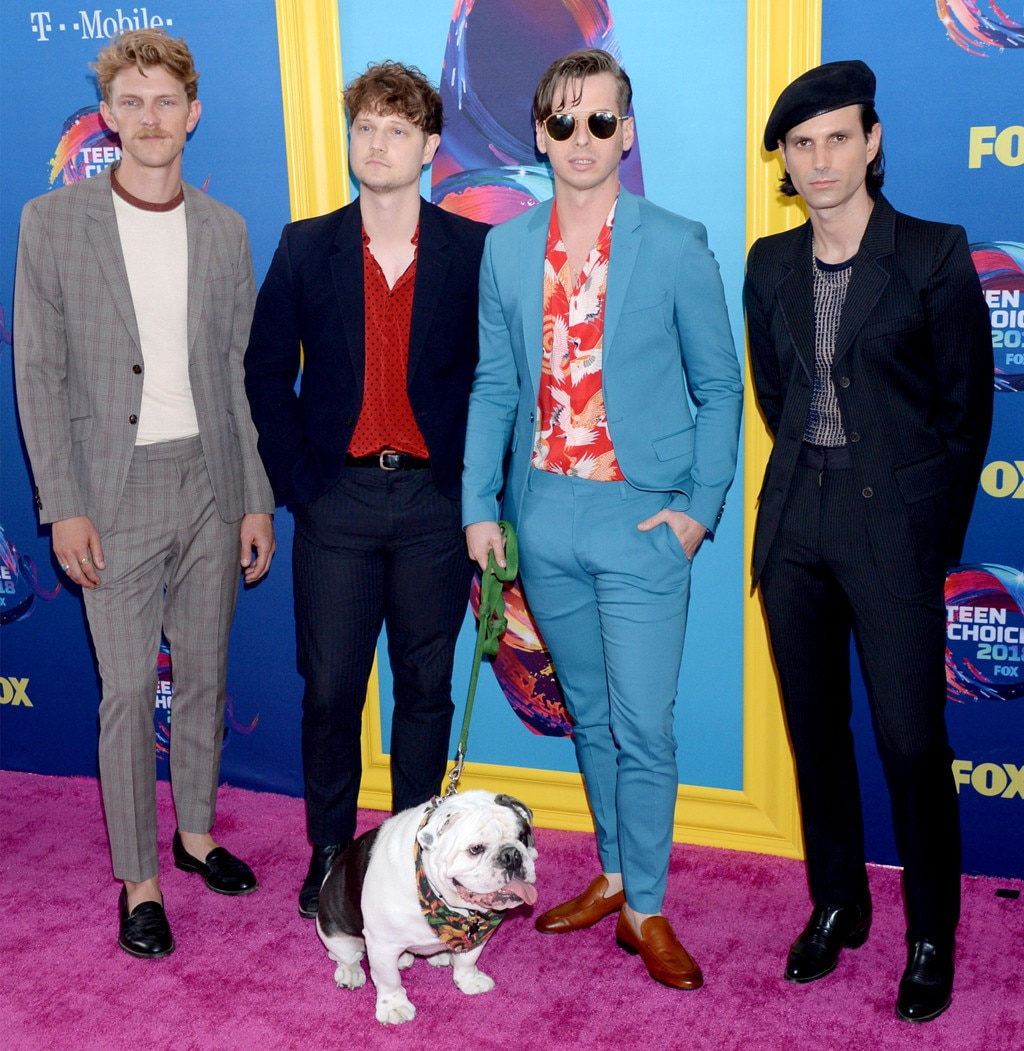 foster the people  Foster the People from Teen Choice Awards 2018: Red Carpet Fashion ...