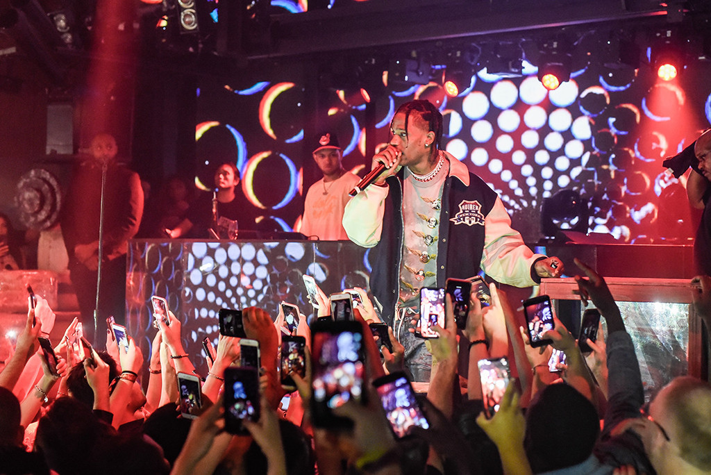 Travis Scott, Marquee Nightclub, Las Vegas