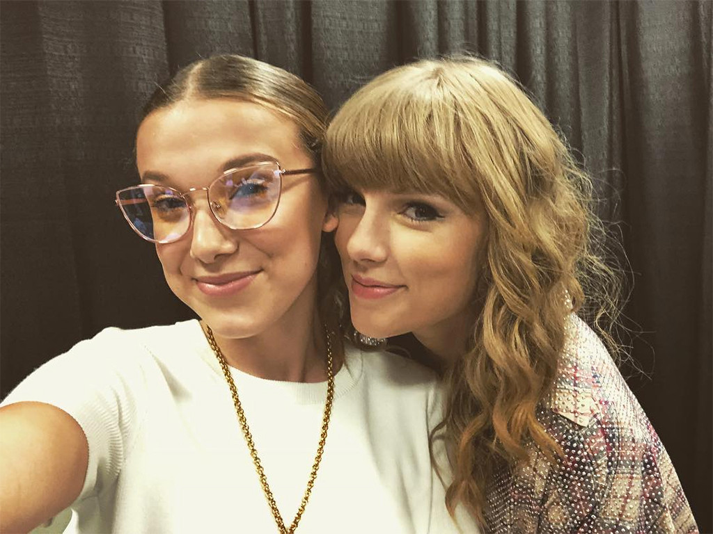 Millie Bobby Brown Had The Best Time At A Taylor Swift Concert E Online
