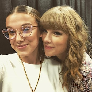 Taylor Swift, Millie Bobby Brown