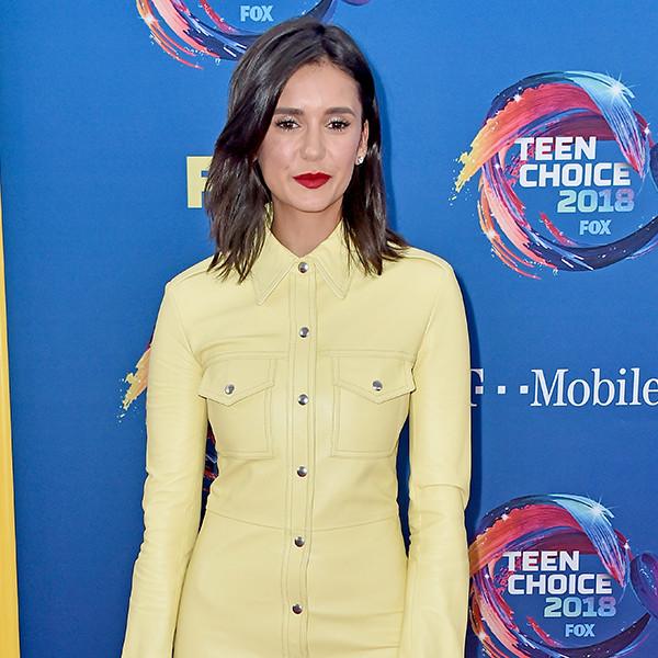 Nina Dobrev, 2018 Teen Choice Awards