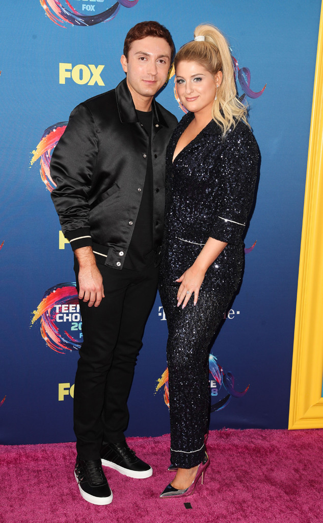 Daryl Sabara, Meghan Trainor, 2018 Teen Choice Awards, Couples