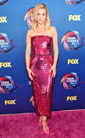 Lili Reinhart, 2018 Teen Choice Awards