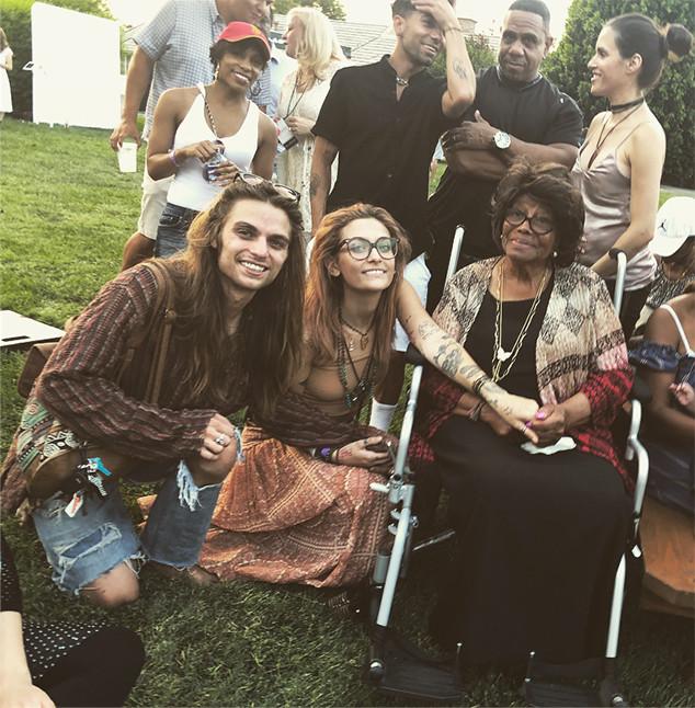Paris Jackson, Katherine Jackson, Gabriel Glenn, Soundflowers, Band