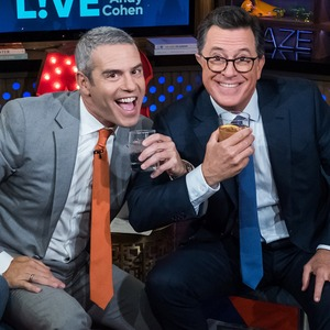 Andy Cohen, Stephen Colbert, Watch What Happens Live