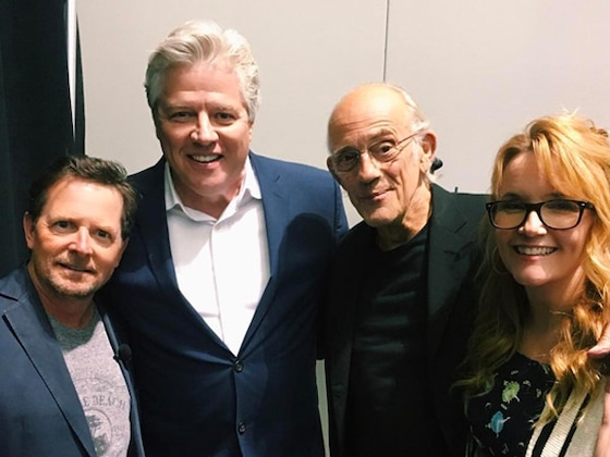 <i>Back to the Future</i> Cast Reunites at Fan Convention
