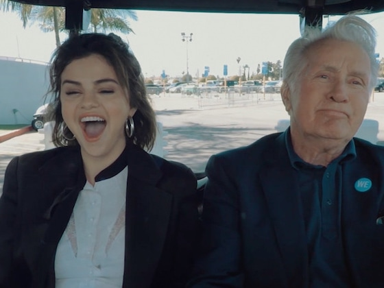 "Selena Gomez Shares Her ""WE Day Top 3"" With Martin Sheen"