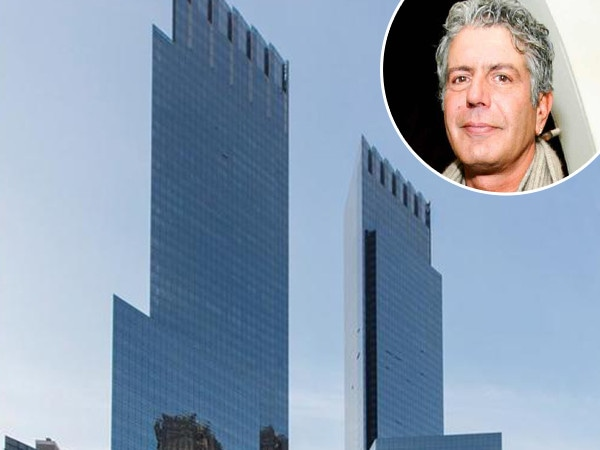 Anthony Bourdain's New York City Apartment for Rent 2 Months After His Death