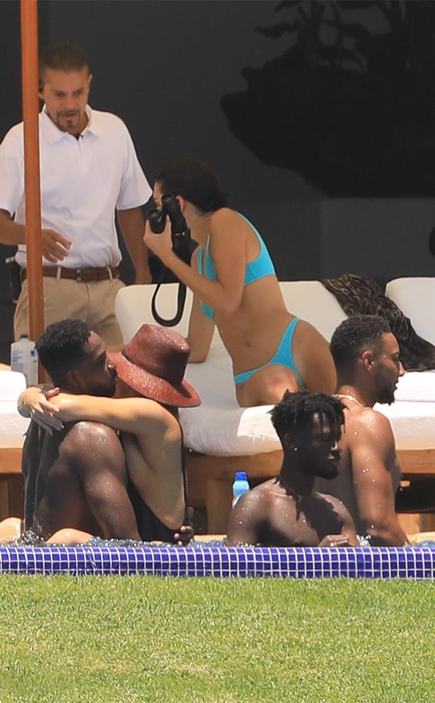 Kendall Jenner, Khloe Kardashian, Tristan Thompson, Ben Simmons