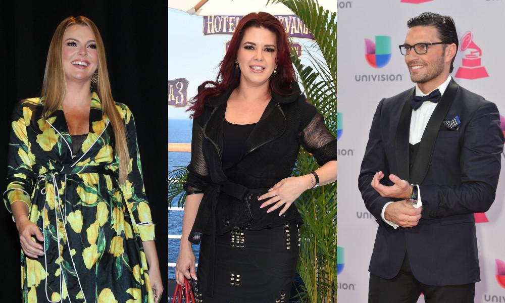 Marjorie de Sousa, Alicia Machado, Julian Gil