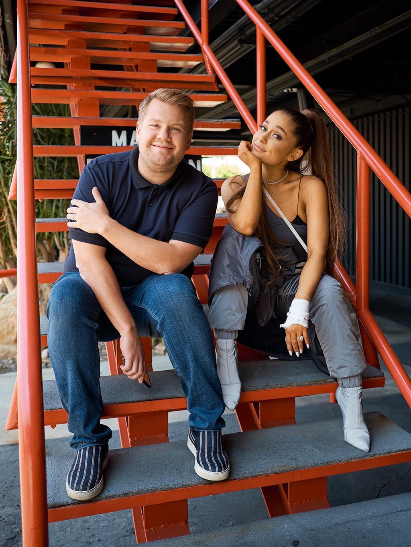 James Corden, Ariana Grande, The Late Late Show