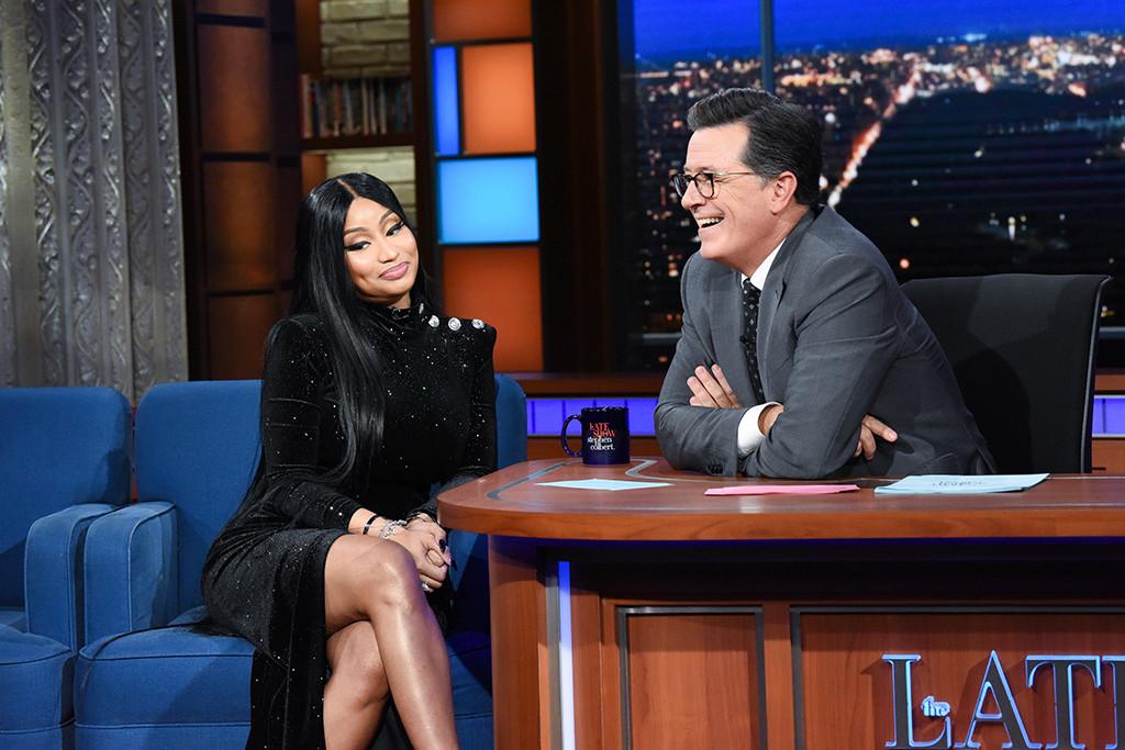 Nicki Minaj, The Late Show With Stephen Colbert