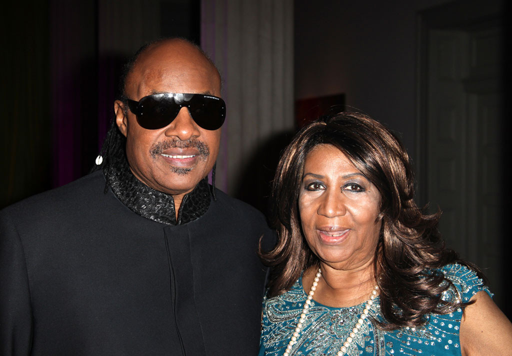 Stevie Wonder, Aretha Franklin