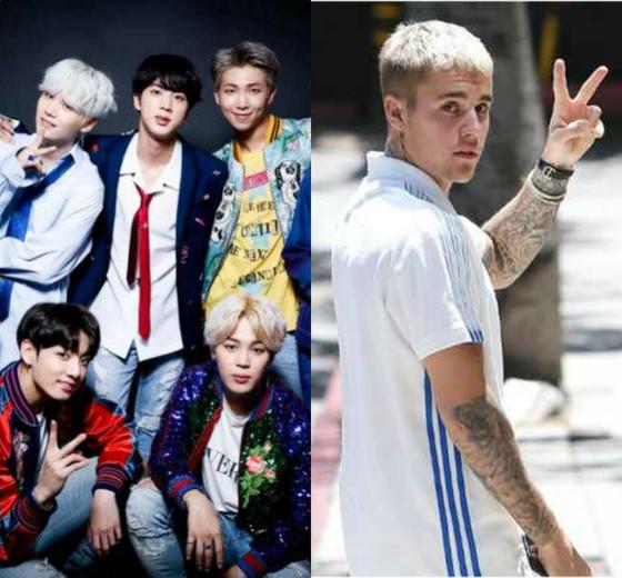 BTS, Justin Bieber