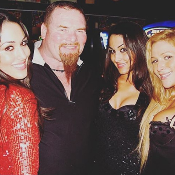 Nikki Bella, Jim Neidhart