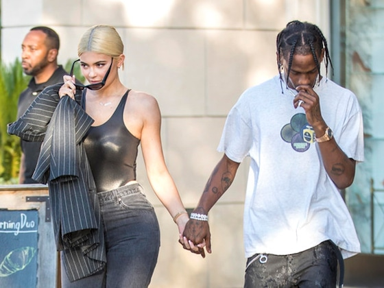 Kylie Jenner and Travis Scott Spark Engagement Rumors While Jewelry Shopping
