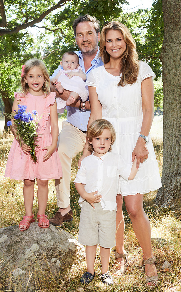 Royal Family, Sweden, Princess Madeleine, Christopher O'Neill, Princess Leonore, Prince Nicolas, Princess Adrienne