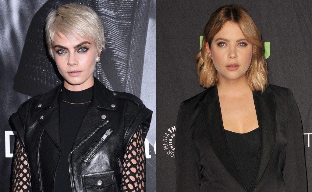 Cara Delevingne y Ashley Benson son captadas besándose (FOTOS)